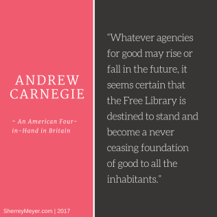 Andrew Carnegie on Libraries (2017_04_13 00_01_10 UTC)