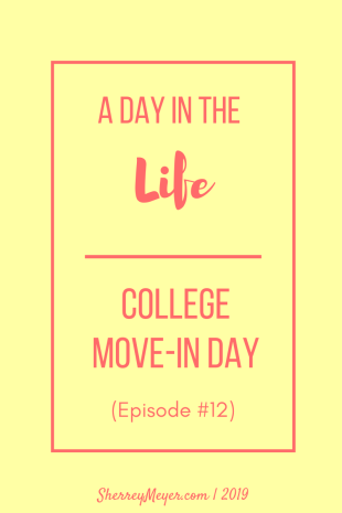 college move-in day, transitions, moving, changes
