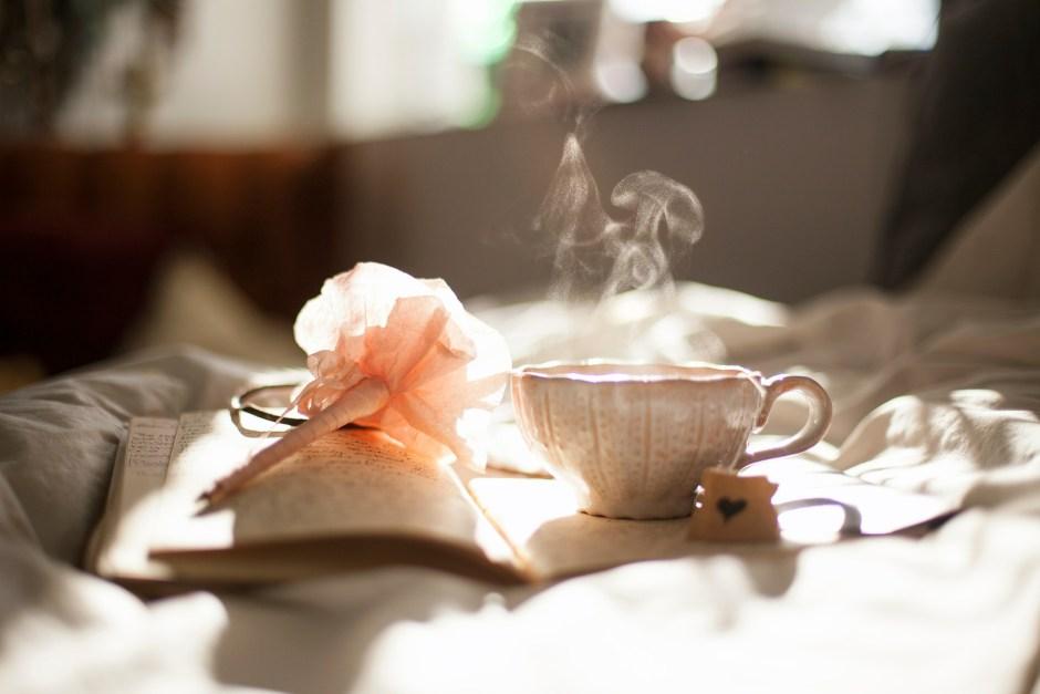 quiet times, calm, tea, reading, recuperating, peace,