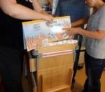 Fingerprinting with newborn at Parker Hospital