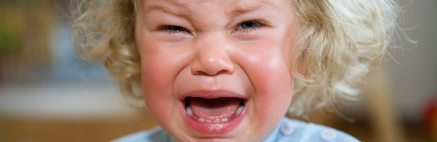Adoptive mom tries new method to help toddler get over temper tantrum