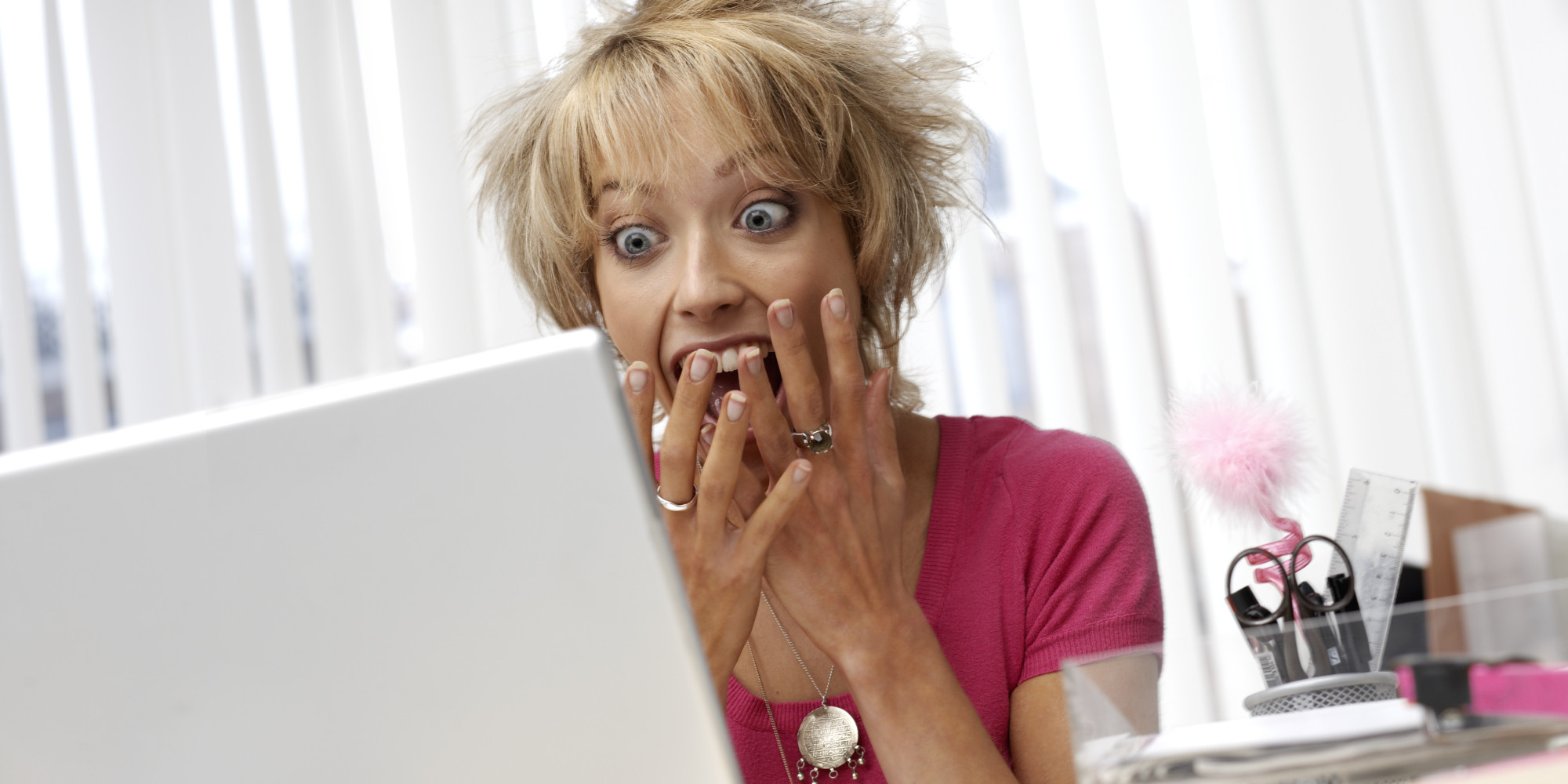 This is photo of adopted woman searching for birth family on social media. She's not aware of how she may be hurt. This post provides five landmines for her to be aware of to keep herself safe.