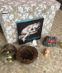 This is a photo of a grief box designed by Sherrie Eldridge to give parents a tool for helping their kids surface and process un-grieved loss.