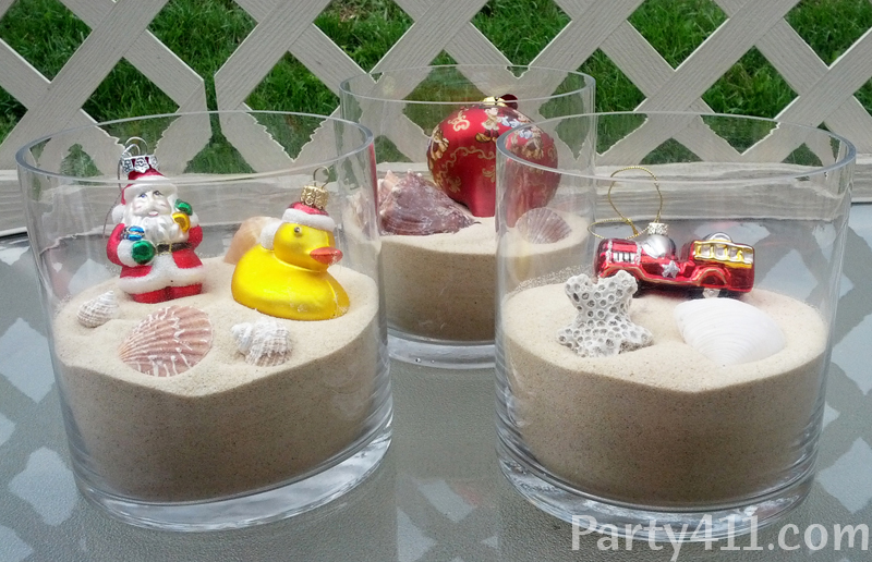 Christmas In July Table Centerpieces
