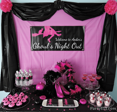 Halloween Ghoul's Night Out Bachelorette Party Ideas Daily Party