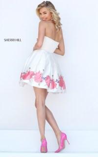Print 2016 Sherri Hill Prom Dress Short  Beauty Dresses ...