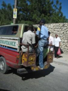 Tap Taps, public transportation in Haiti