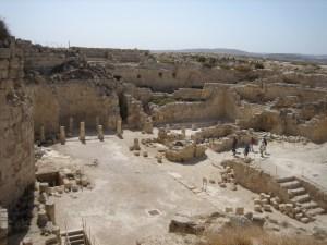 Interior of the Herodium