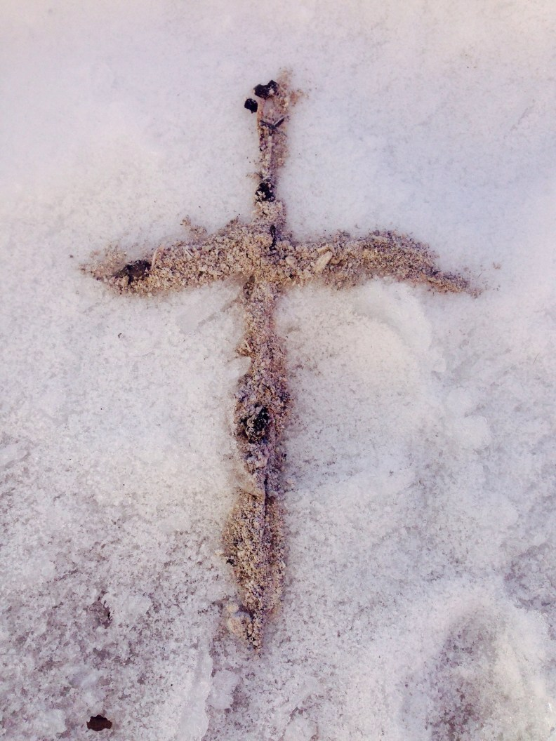 Cross from Ashes