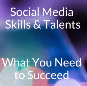 Free ebook social media skills and talents