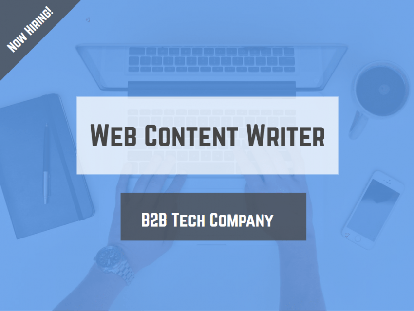 Ottawa jobs web content writer