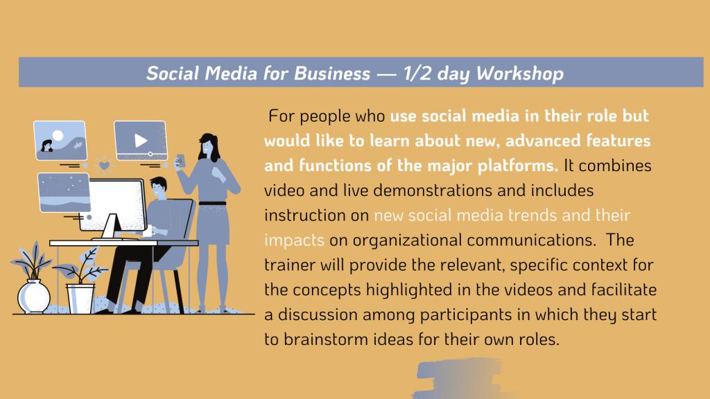 Social Media for Business Workshop