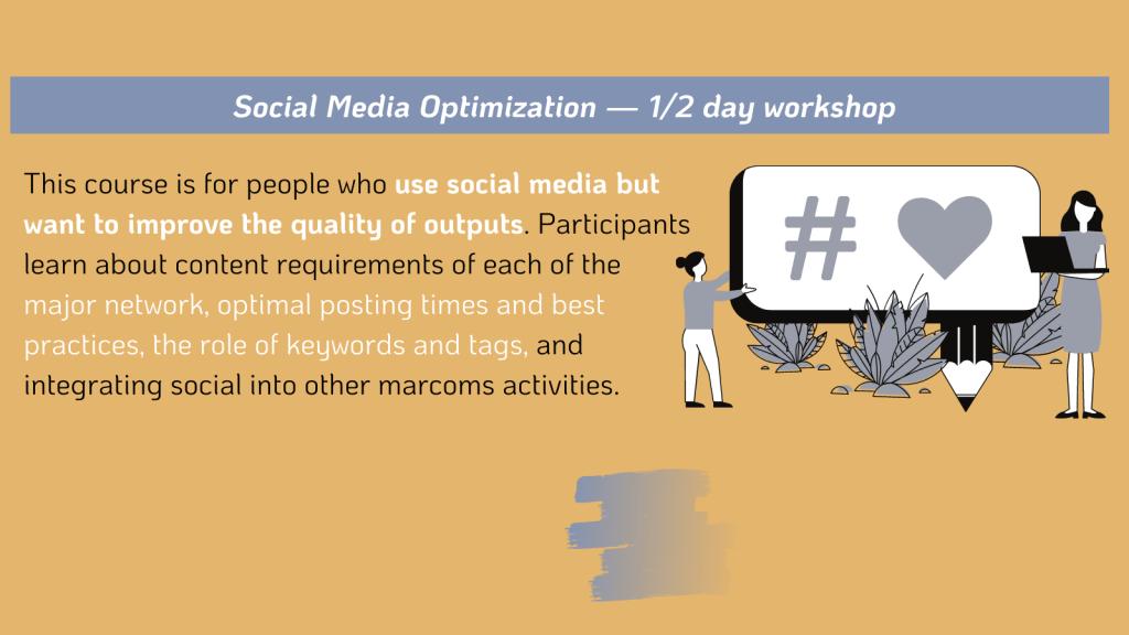 Social Media Optimization Workshop