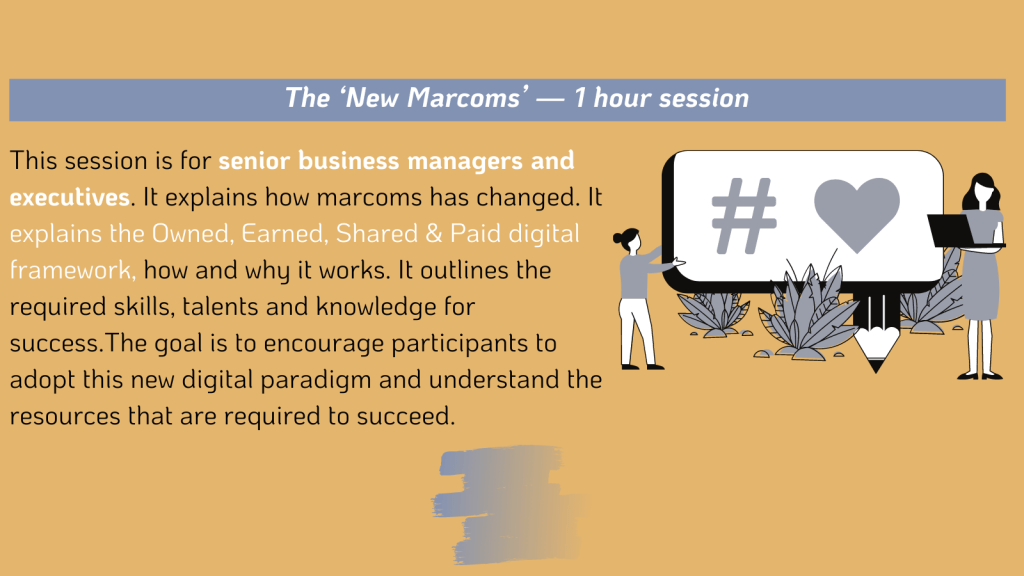 The New Marcoms Workshop
