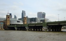View of The Walkie Talkie building