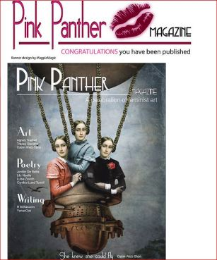 Featured Pink Panther Magazing