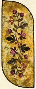 Vine and berries table runner