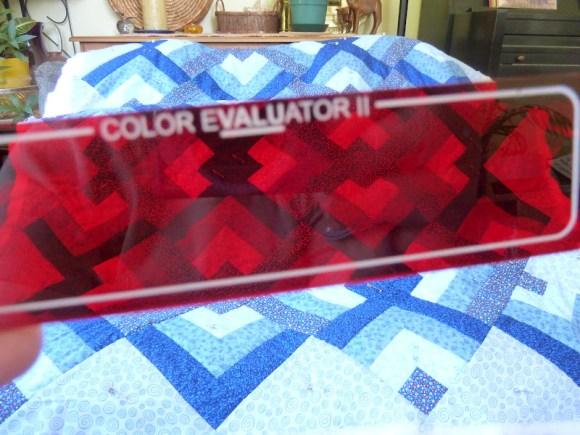 Color evaluator