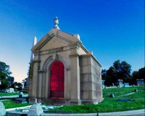 The Parker Tomb , Mountain View Cemetery, Oakland, CA