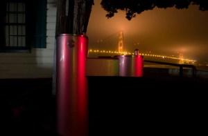 Water Fountain, Golden Gate Bridge, Fort Poitnt, SF, CA