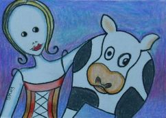 COW TIPPING-Sold