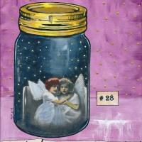 "Art: ""Specimen Number 28"", theme ""Things In Jars"""