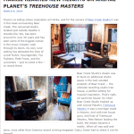 Product news article - Mackie featured on Treehouse Masters