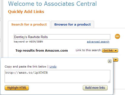 How to Shorten Amazon Affiliate Links