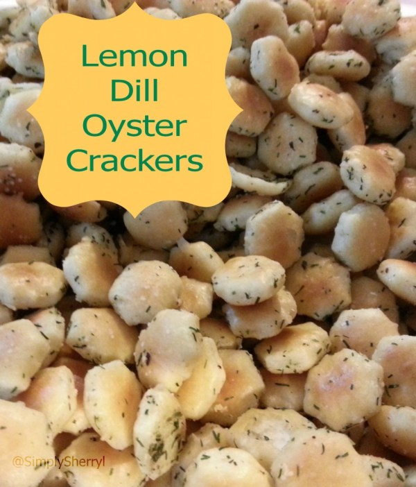 Lemon Dill Oyster Crackers
