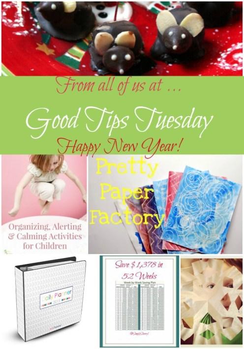 Good Tips Tuesday Week 52