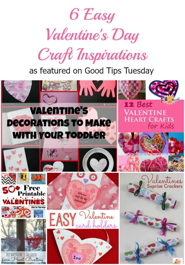 6 Easy Valentine Craft Inspirations