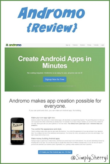 Andromo {Review}