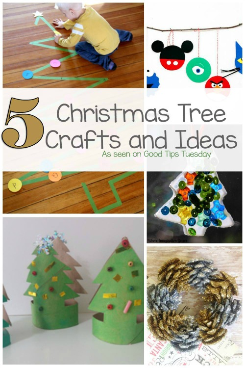 This week our featured posts are 5 Christmas Tree Crafts and Ideas to keep your little ones busy. As the excitement builds, have quick crafts and activities on hand for the little ones.