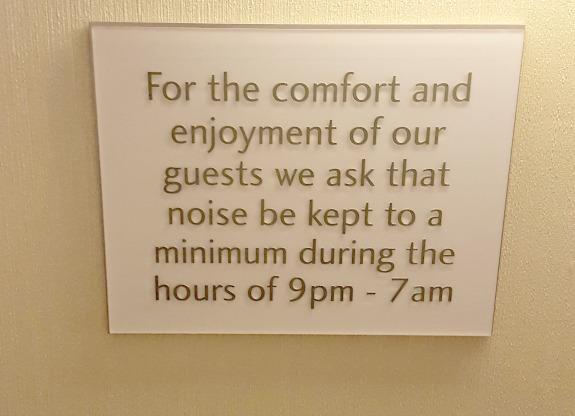 McCormick Place Hyatt Room Signs