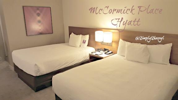 McCormick Place Hyatt Room