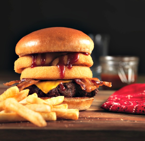 Frisch's® New Look and Western BBQ Primetime Burger