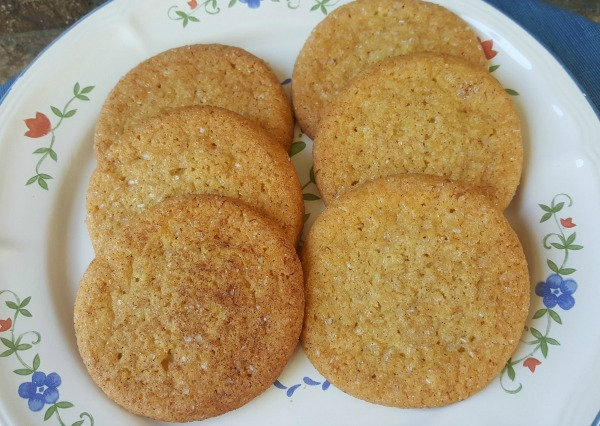 Peach Iced Tea Cookies