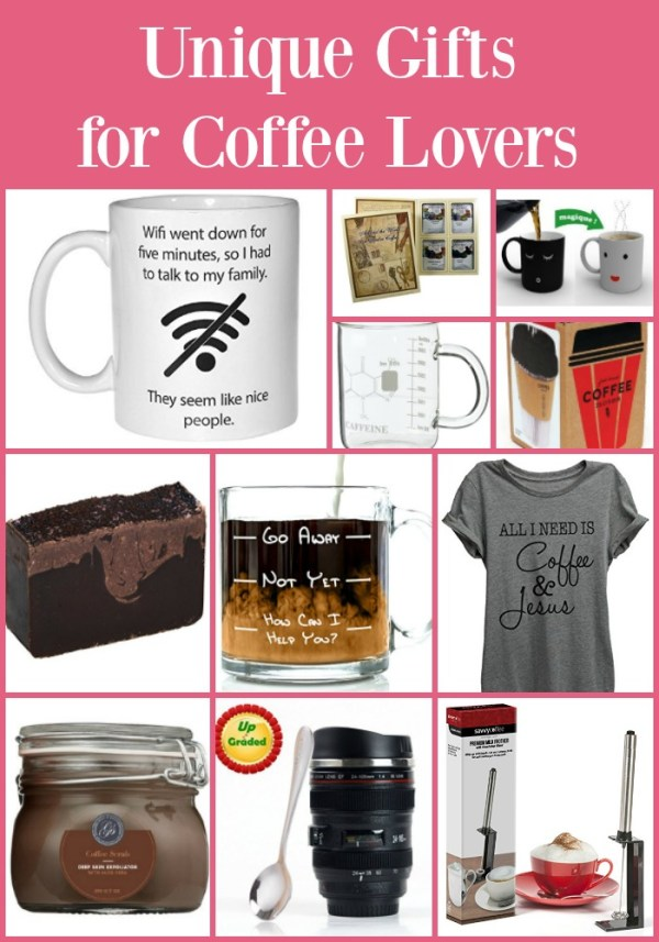 Unique Gifts for Coffee Lovers