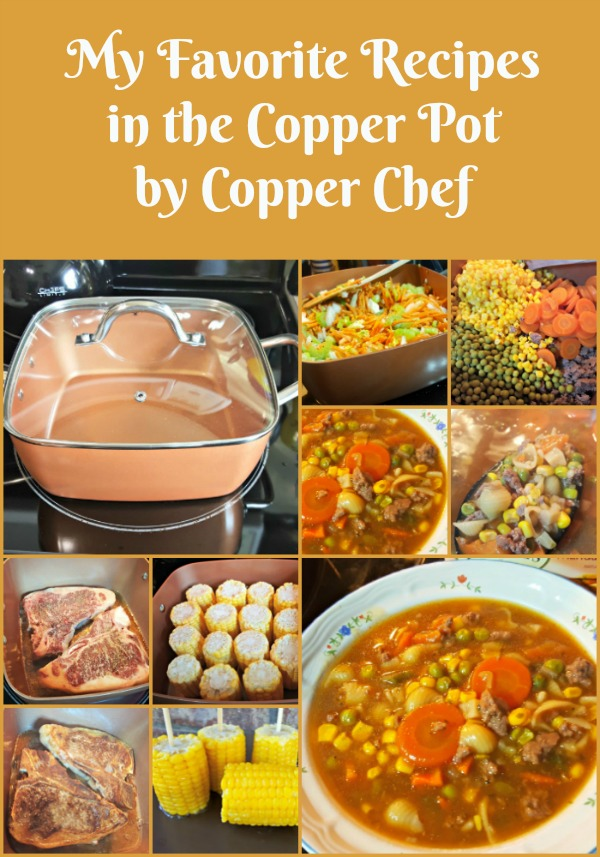 My favorite recipes in the copper pot by copper chef