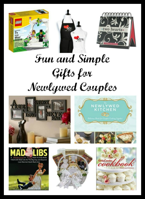 Fun and Simple Gifts for Newlywed Couples