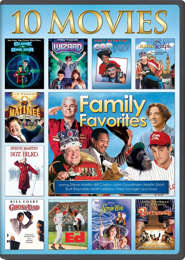 10 Movie Collection of Family Favorites.