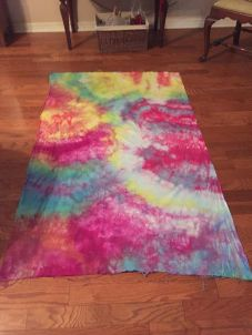 Susan Ames Ice Dyed Fabric