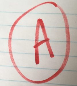 "Give Yourself an ""A"""