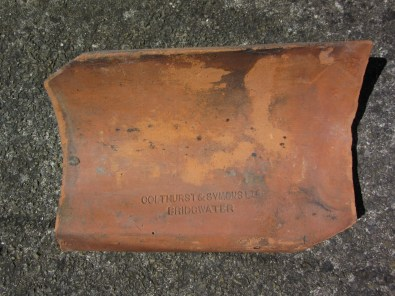 Not your average heirloom_Shersca Genealogy_Colthurst & Symons roof tile