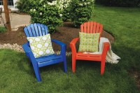 Spray Paint Plastic Chairs | How to Paint Plastic Lawn ...