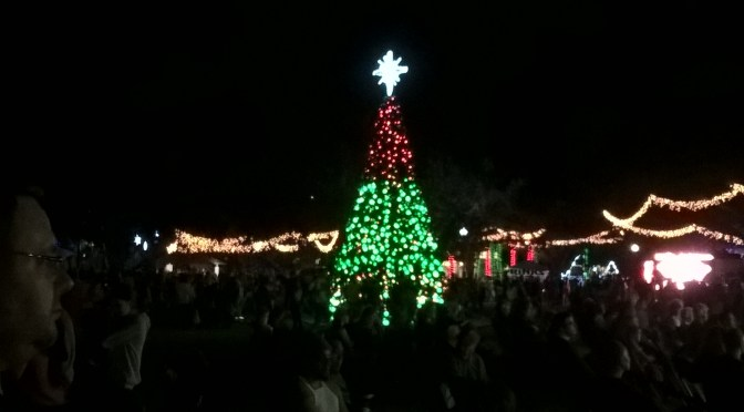 Maxey Memory #7: Christmas Events in the Sunshine State