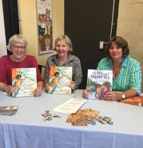 Katherine Farris, Kit Pearson & me,