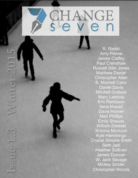Winter 2015, Issue 1.3, Cover Art by Christopher Woods