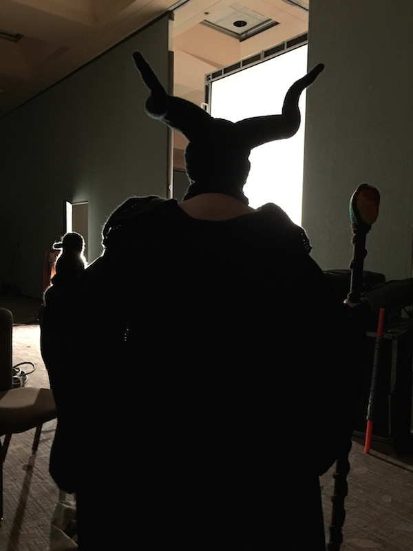 Maleficent Silhouette