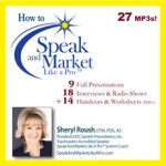 How to Speak And Market Like a Pro mp3 audio CD